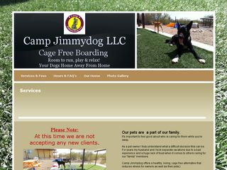 Camp Jimmydog | Boarding