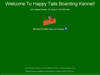 Happy Tails Boarding Kennel | Boarding