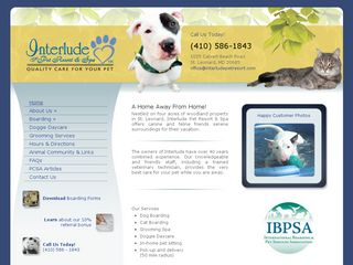 Interlude the Pet Resort  Spa Saint Leonard