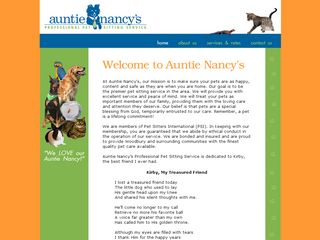 Auntie Nancys Pro Pet Sitting Saint Paul
