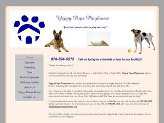 Yappy Pups Playhouse Salem