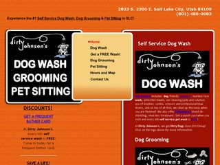 Dirty Johnsons Dog Wash Salt Lake City