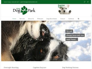 Utah Dog Park Salt Lake City