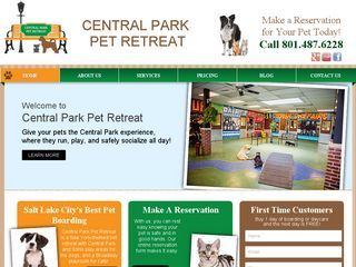 Central Park Pet Retreat Salt Lake City