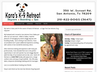 Karas K9 Retreat | Boarding