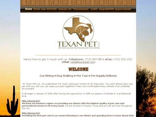 Texan Pet LLC | Boarding