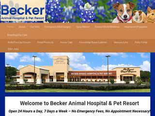 Becker Animal Hospital Pet Resort San Antonio