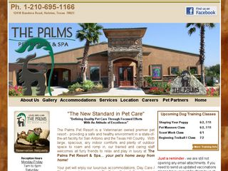 The Palms Pet Resort Spa San Antonio