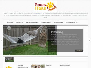 Paws and Tails Pet Sitting in San Antonio San Antonio