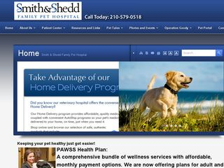 Smith   Shedd Family Pet Hospital | Boarding