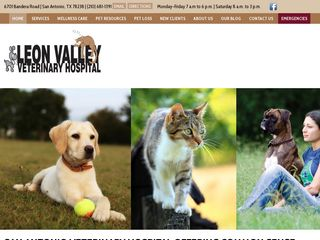 Leon Valley Veterinary Hospital San Antonio