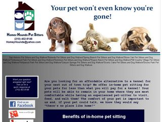 Homey Hounds Pet Sitters San Antonio