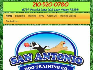 San Antonio Dog Training Co. | Boarding