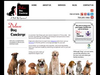 Deluxe Dog Concierge | Boarding
