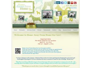Home Away From Home K9 Care San Diego