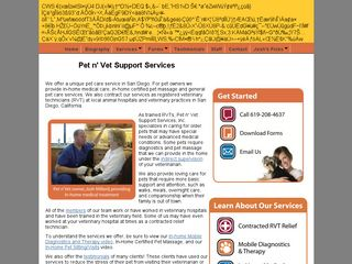 Pet n Vet Support Services San Diego