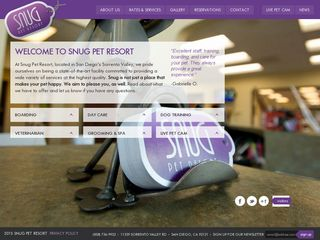 Snug Pet Resorts | Boarding