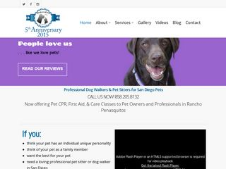 JenLovesPets Dog Walking Pet Sitting San Diego