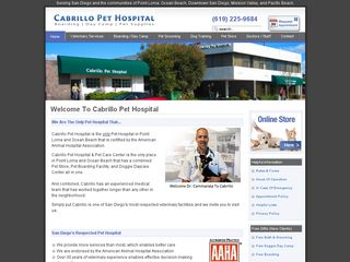 Photo of Cabrillo Pet Hospital in San Diego