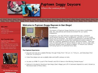 Puptown Doggy Daycare San Diego