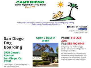 Camp Diego | Boarding