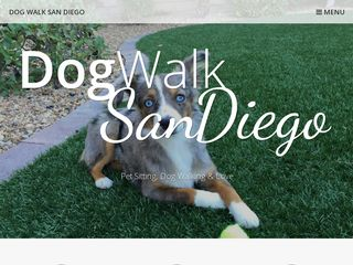 Julie Dog Walk San Diego San Diego