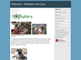 Whiskers In Home Petsitting | Boarding