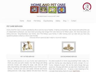 Home And Pet Care San Diego