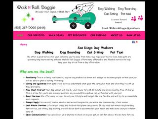 Walk N Roll Doggie | Boarding