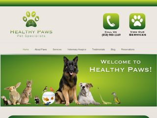 Healthy Paws Pet Specialists | Boarding