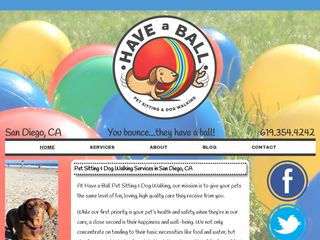 Have A Ball Pet Sitting   Dog Walking San Diego