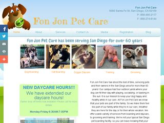 Fon Jon Pet Care San Diego
