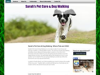Sarahs Pet Care | Boarding