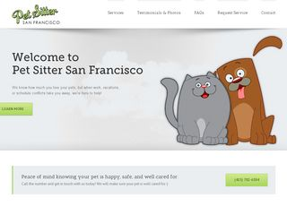 Pet Sitter San Francisco San Francisco