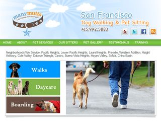 Manymutts Pet Care San Francisco