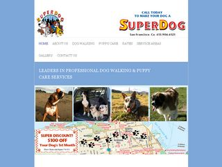 SuperDog Dog Walkers San Francisco