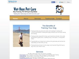 Wet Nose Pet Care | Boarding
