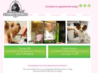 Russian Hill Dog Grooming Express San Francisco