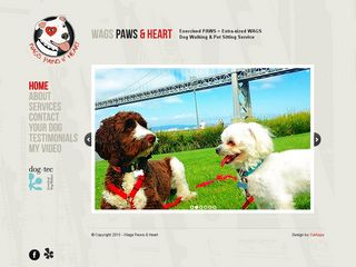 Wags Paws  Heart San Francisco