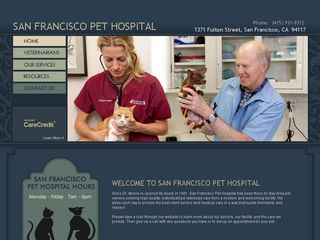 San Francisco Pet Hospital | Boarding
