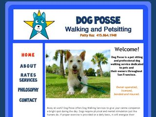 Professional Dog Walkers of San Francisco San Francisco