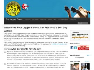 Four Legged Fitness San Francisco
