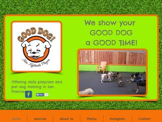 Good Dog! Playcare San Francisco