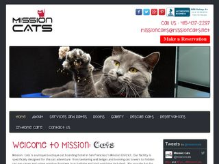 Mission: Cats San Francisco