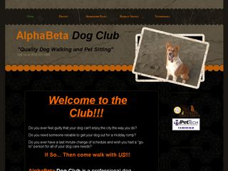 AlphaBeta Dog Club | Boarding