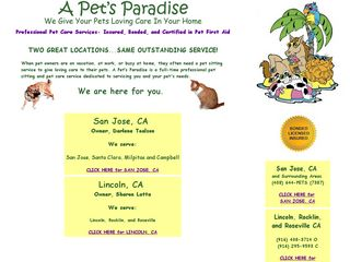 Photo of A Pets Paradise in San Jose