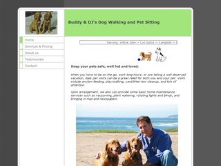 Buddy  DJs Dog Walking and Pet Sitting San Jose
