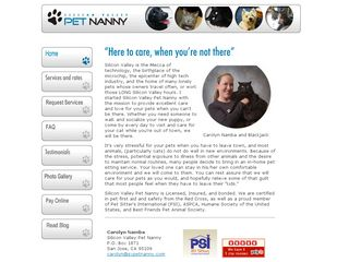 Silicon Valley Pet Nanny San Jose