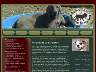 Bed n Bones Dog Ranch | Boarding