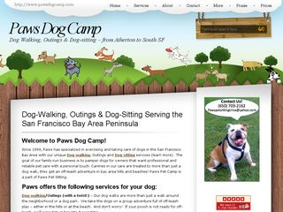 Paws Dog Camp San Mateo